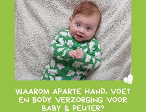 Huidverzorging baby & peuter: hand, voet en body