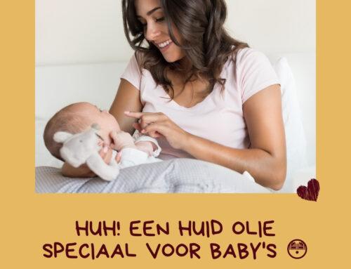 Huid olie voor baby en peuter