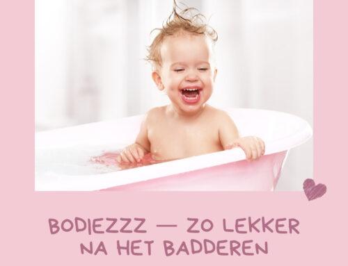 Bodiezzz bodycrème – lekker na het badderen